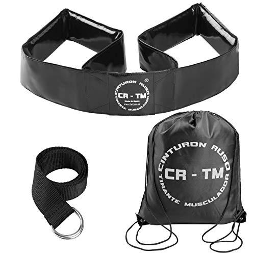 Cinturon Ruso CR-TM Tirante Musculador Professional (Negro)