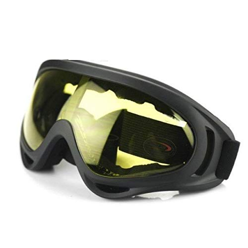 Alle leampp Skibrille Motorradbrille Geländewagen Brille Electric Vehicle Riding Brille Anti-Kratz-Schutzbrillen Anti-Fog spritzwassergeschützt Schutzausrüstung Schutzbrille (Color : A)