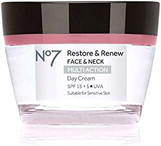 No7 Restore & Renew FACE & NECK MULTI ACTION Day