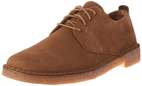 Clarks Desert London Mens Boots 46 EU Chestnut Leather