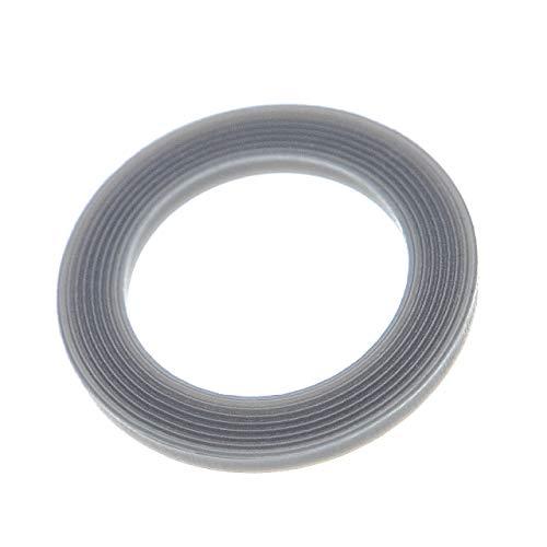 vhbw Dichtungsring kompatibel mit Vorwerk Thermomix TM21, TM31, TM3300, TM5, TM6 Küchenmaschine - Grau