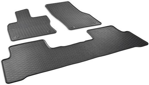 AME Prime - Auto-Gummimatten Fußmatten Im Wabendesign, Anti-Rutsch-Oberfläche, Geruch-vermindert und passgenau 891/3C