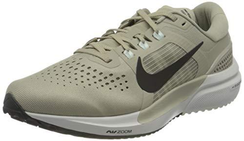 Nike Air Zoom Vomero 15, Scarpe da Corsa Uomo, Stone/Black-lt Army-off Noir-Barely Green-Platinum Tint, 43 EU