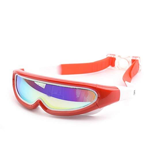 RANJN Kinderen Zwembril Professionele Frame Anti-Mist Kids Zwembad Masker Water Zwembril Silicone Duikbril