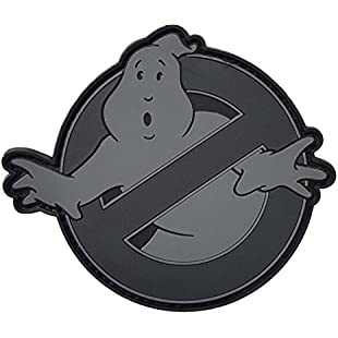 2AFTER1 ACU Ghostbusters No Ghost Subdued Cosplay Movie PVC Rubber 3D Fastener Patch