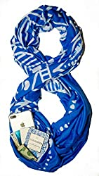 travel scarfs with hidden pockets Waypoint infinity scarf