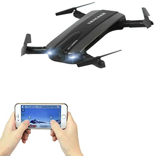SkyCo 523 Mini Foldable RC Drones for Kids Boys Girls Pocket Drone with HD Camera