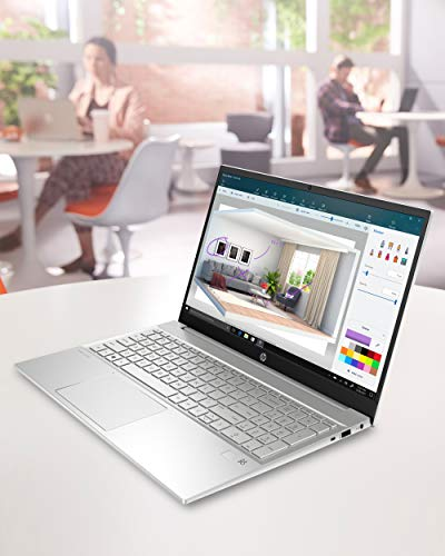 Product Image 7: HP Pavilion 15 Laptop, 11th Gen Intel Core i7-1165G7 Processor, 16 GB RAM, 512 GB SSD Storage, Full HD IPS Micro-Edge Display, Windows 10 Pro, Compact Design, Long Battery Life (15-eg0021nr, 2020)
