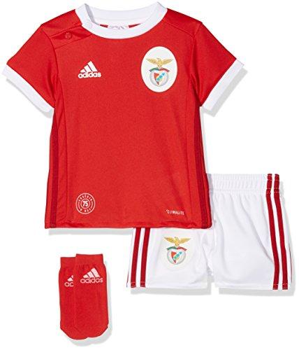 adidas Kinder Kinder Benfica Lissabon Mini-heimausrüstung Benfica Lissabon Mini-Heimausrüstung, Benred/White, 92, B31007