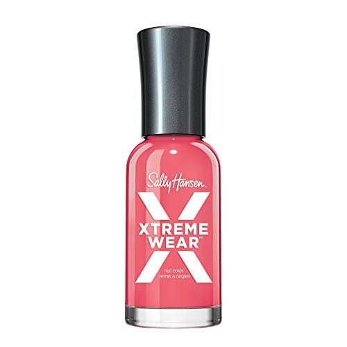 Sally Hansen Hard as Nails Xtreme Wear, Coral Reef, 0.4 Fluid Ounce