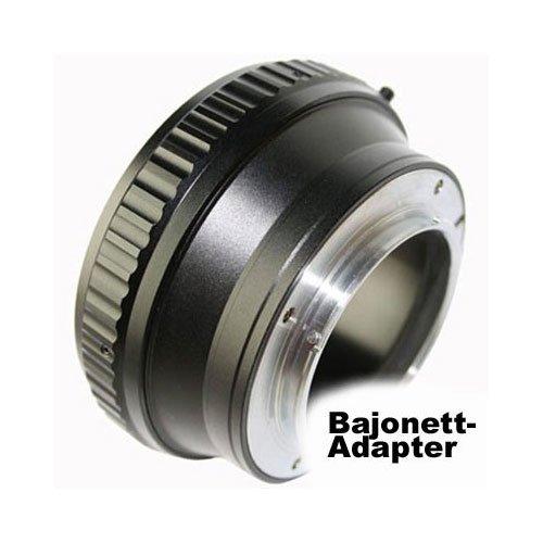 Adaptador de bayoneta de objetivo Hasselblad SONY (MA) A montura para SONY.alfa A/SLT serie réflex, Konica Minolta Dynax y analógicas Konica Minolta SLR MA bayoneta cámaras ... (montura EF)