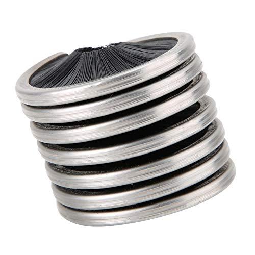 Kuuleyn Diseño de Rollo liviano Cepillo de Cuerda de Nailon Cuevas limpias Vía Completa Adecuado para Escalada al Aire Libre Teleférico Trabajos aéreos Herramientas de Limpieza de Cuerdas
