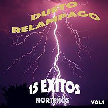 15 Exitos Nortenos, Vol. 1
