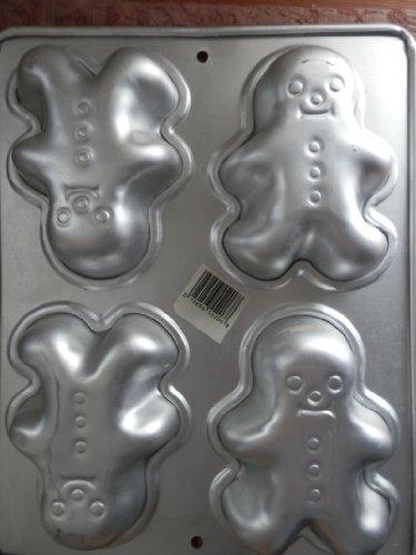 Wilton Kuchenform Mini Gingerbread Boy/Girl, Clown Kuchenform