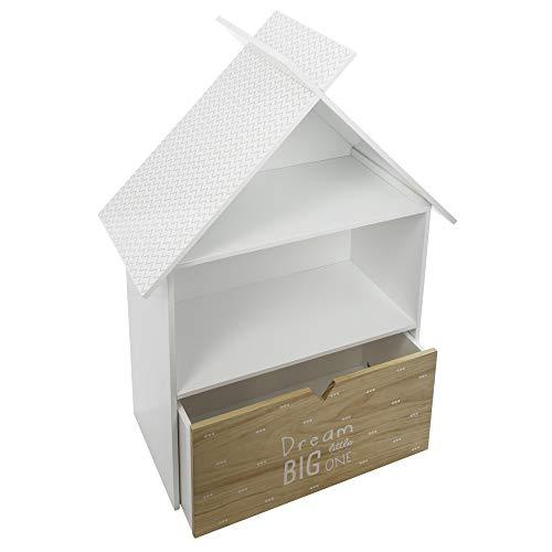 Atmosphera - Bücherregal fürs Kinderzimmer - Große Schublade