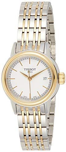 Tissot Damen-Uhren Rund Analog Quarz One Size Edelstahl 86136457