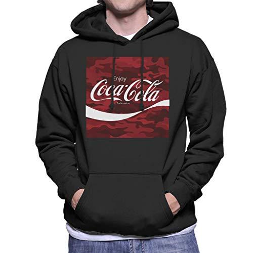 Coca-Cola Camo Men's Hooded Sweatshirt
