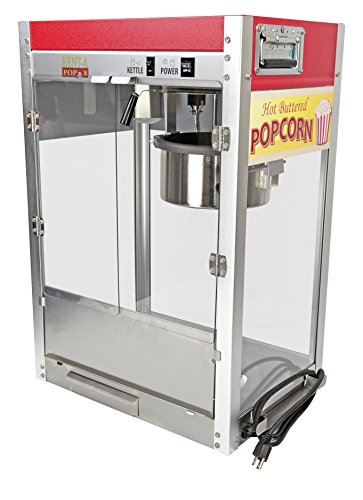 Learn More About Paragon - Manufactured Fun Rent-A-Pop Popcorn Machine, 8 oz