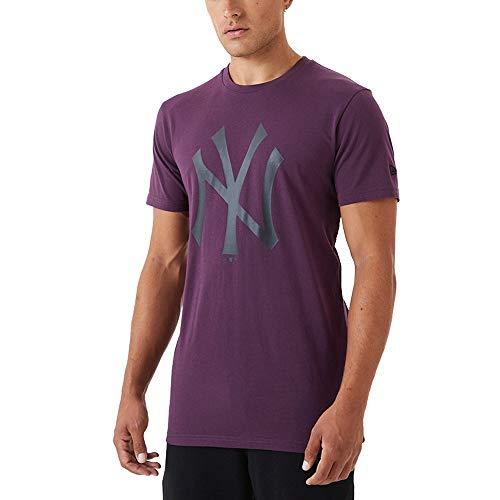 New Era Camiseta de Manga Corta Modelo MLB Seasonal Team Logo tee NEYYAN Marca