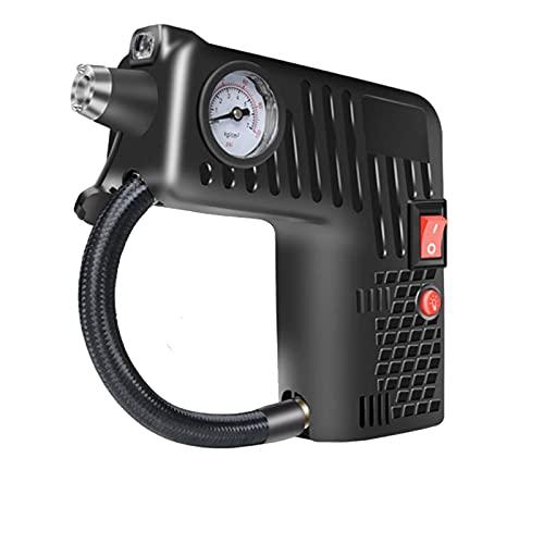 Compresor de aire portátil, inflador de neumáticos inalámbrico, para bomba de inflado de neumáticos de bicicleta de coche eléctrico, 12 V, 8 A, 100 W, bomba de inflado de alta presión para neumáticos