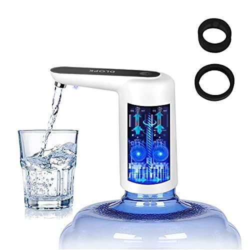 DLOPK Dispensador de Agua,Dosificador Agua Garrafas de Carga USB Bomba de Agua Pequeño y Automática Extraíble Vida de Ocio Para el Hogar la Oficina el Camping al Aire Libre en el Interior