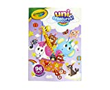 Crayola Uni-Creatures Coloring Book, 96 Unicorn Coloring Pages, Gift for Kids, Ages 3, 4, 5, 6, Multi