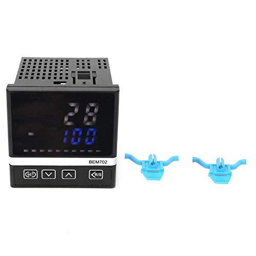 JKUNYU Controller 180-240VAC Temperatura, K-Tipo LED Digital Display Controlador de temperatura, el relé / SSR, berma BEM702-K1220, conveniente for diversos hornos de calentamiento, hornos, calderas i