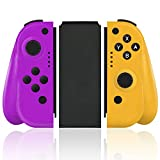 Wireless Joy Pad Controller for Nintendo Switch, Replacement Joy Con with Redesigned Ergonomic Hand Grip Comfortable Handheld Gamepad Remote