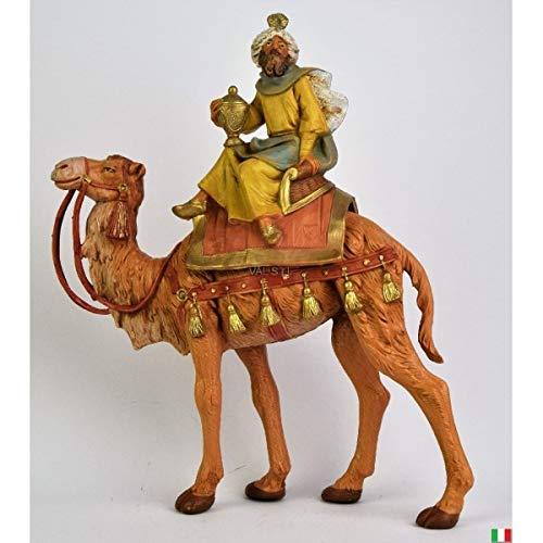 Fontanini Re Magio Mulatto de camello 19 cm
