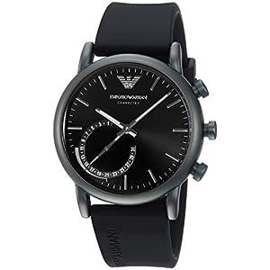 Emporio Armani Reloj Analogico para Hombre de Cuarzo con Correa en Silicona
