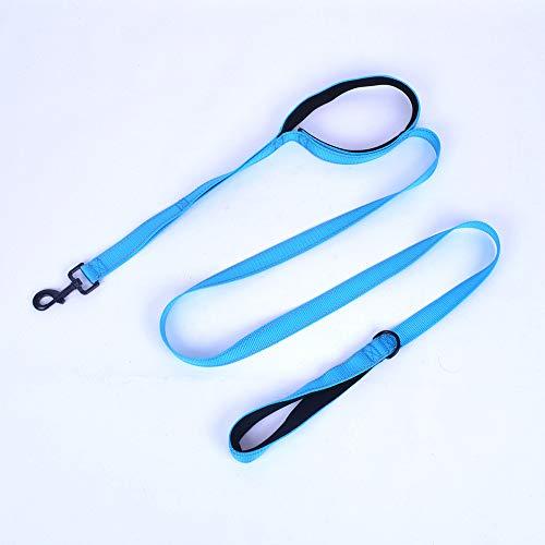 MYYXGS Leine Seil Hundeleine Hundegurt, Lange Regel Sicherheitstraining für mittelgroße bis große Hunde Doppelgriff Traktionsgurt 180 * 2,5 cm