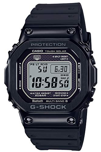 [カシオ] 腕時計 ジーショック Bluetooth 搭載 電波ソーラー GMW-B5000G-1JF メンズ ブラック