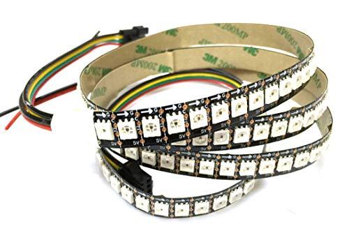 Preisvergleich Produktbild 1 M 144 LED APA102 LED Streifen-Lichter Nicht-wasserdichte IP20 RGB Bunte Farbe 5V Schwarze PCB