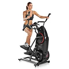 Combines the easy low-impact motion of an elliptical with the calorie burning power of a stepper Max can deliver the cardio benefits of interval training in as little as 14 minutes Max's unique burn rate display shows how many calories burned per min...