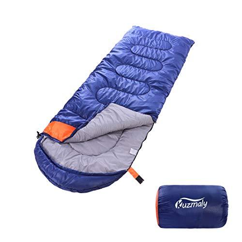 Kuzmaly Camping Sleeping Bag with Compression Sack