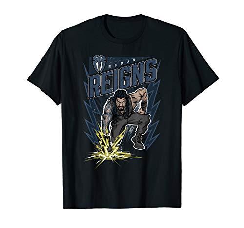WWE Roman Reigns Comic Splash T-Shirt