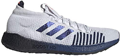 Adidas PULSEBOOST HD M, Zapatillas Running Hombre, Rosa (Dash Grey/Boost Blue Violet Met./Tech Indigo), 44 2/3 EU