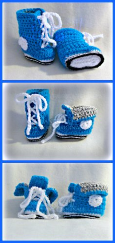 Baby High Top Sneakers pdf696 (English Edition)