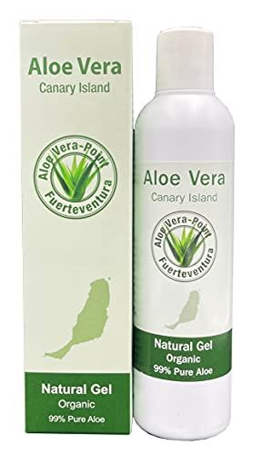 Aloe Vera Point Organic Aloe Vera Gel 99{30588d0ccb08d31b4f9cf07cb1d17de9e43336b2621f1017e45e77ba5b6f584f} 250ml kaltgepresst von Fuerteventura - 1 Einheit