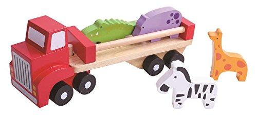 Tooky Toys TKB380 - Camión de Animales, Multicolor