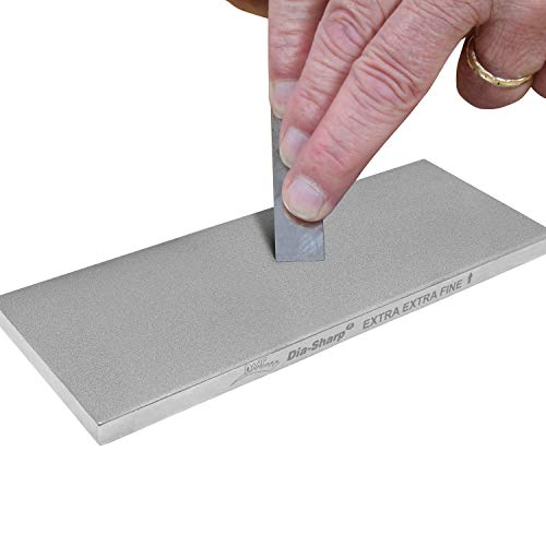 8-in. Dia-Sharp Bench Stone Extra-Extra-Fine Sharpener
