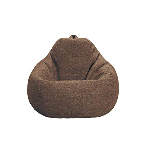Yaowen sofa perezoso Bean Bag for adultos y ninos Gamer Bean Bag amortiguador de asiento de lectura de la butaca Sofa Cojin de suelo Sillon-Sky Blue_70 * 80cm lili (Color : Brown , Size : 80*100cm)