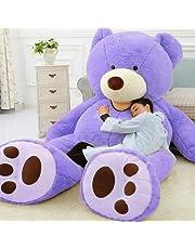 ぬいぐるみ 特大 くま/テディベア 可愛い熊 動物 大きい くまぬいぐるみ/熊縫い包み/クマ抱き枕/お祝い/ふわふわぬいぐるみ