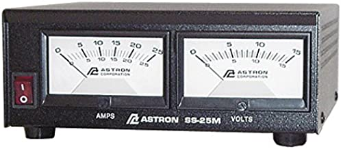 Astron SS-25M Desktop Switching Power Supply 13.8V 25A-Astron