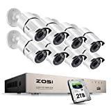Best Surveillance Systems - ZOSI 8CH 1080P Security Camera System with 2TB Review