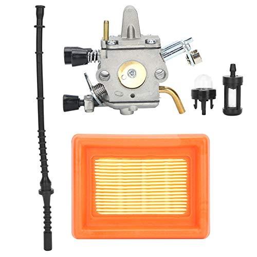 Accesorio para cortacésped, carburador, Filtro de Aire, Juego de Tubos de Combustible, Repuesto para cortacésped STIHL FS400 FS450 FS480