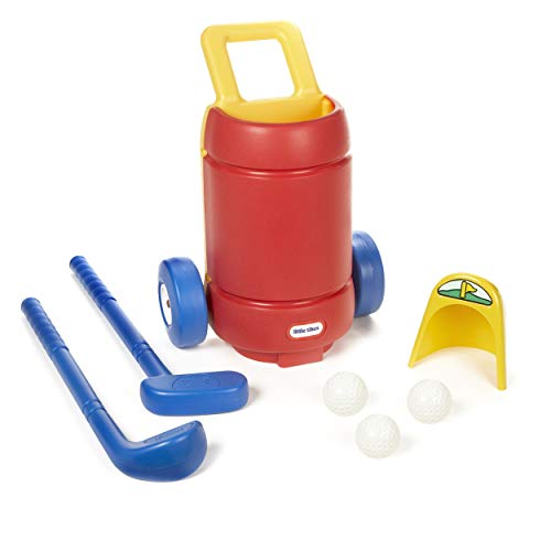 Little Tikes TotSports Easy Hit Golf Set + 3 balls + 2 clubs