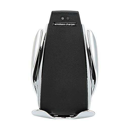 Cargador de coche Cargador de coche inalámbrico Sujeción automática Sensor infrarrojo Carga rápida Soporte para teléfono Soporte