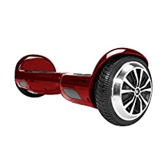 Cruise with swag on your hoverboard boasting an 8 mph top speed and 7-12 mile range - weight up to 220 lbs UL 2272 certified - the SWAGTRON 2-wheel self-balancing scooter excelled in all electrical safety tests This swag motorized scooter's new featu...