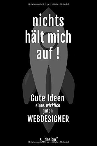 Notizbuch für Webdesigner: Originelle Geschenk-Idee [120 Seiten gepunktet Punkte-Raster blanko Papier]